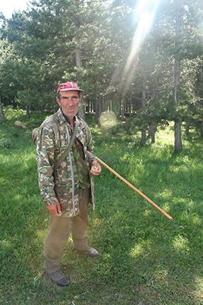 John Masters. Macedonian shepherd.