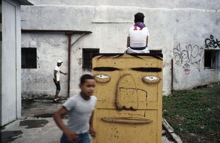 Alex Webb, Barrio Chino, Havana, Cuba, 2007