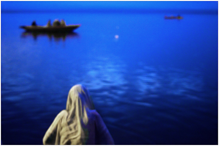 """Animesh Ray, """"The Widow,"""" Varanasi, 2009"""
