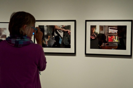 Chris Chadbourne, installation view of the 2011 New England Photo Biennial