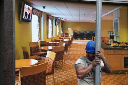 Shane Gray, Dining Hall Scaffolder