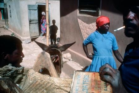"Alex Webb, Bombardopolis, Haiti, 1986, from ""The Suffering of Light"""