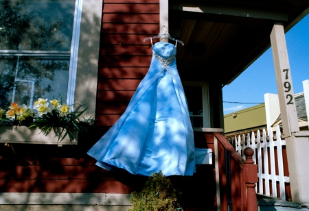 "©Rebecca Norris Webb, ""Second-Hand Prom Dress,"" Rochester, NY, 2012, from ""Memory City"" (with Alex Webb)"
